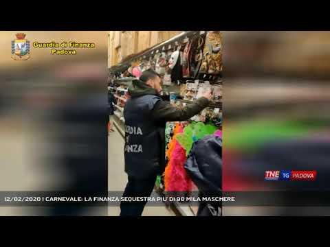 12/02/2020 | CARNEVALE: LA FINANZA SEQUESTRA PIU' DI 90 MILA MASCHERE