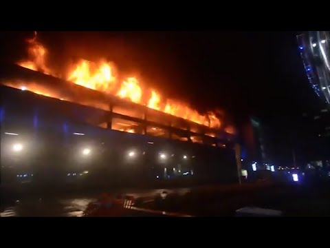 Massive Car Park Fire In Liverpool Destroys 1,400 Vehicles