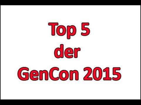 Meine Top 5 der GenCon 2015