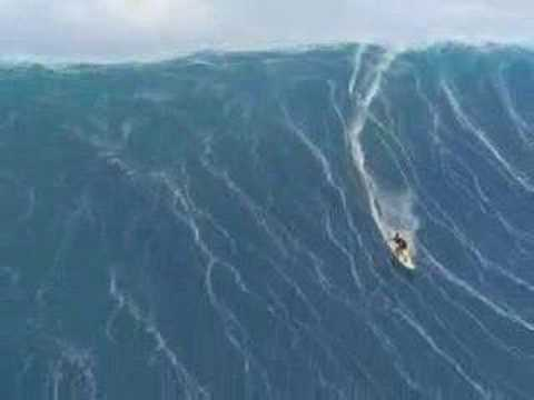 surf on the biggest wave ever