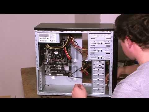 Stavíme jednoduchý kancelářský počítač (AMD A4 5300, 4GB RAM, 500GB HDD, 350W zdroj)