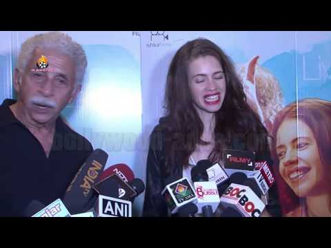 Waiting Movie Hindi (2016) - Naseeruddin Shah - Kalki Koechlin - EXCLUSIVE Screening  !!!