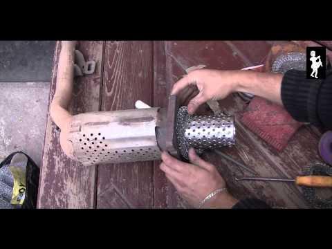 Как сделать пламегаситель вместо катализатора опель
