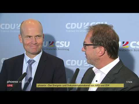 Ralph Brinkhaus zu seiner Wahl zum CDU-Unionsfraktion ...