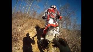 7. 2009 and 2012 crf 450r free riding