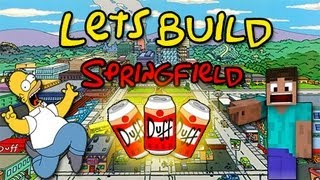 Lets Build Springfield - Episode 1 : The Simpsons House Part 1