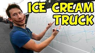 "Video The ""FRIENDLY"" Ice Cream Truck MP3, 3GP, MP4, WEBM, AVI, FLV September 2018"
