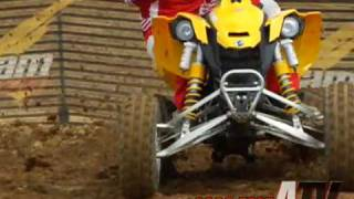 10. ATV Television Test - 2008 Can Am DS 450