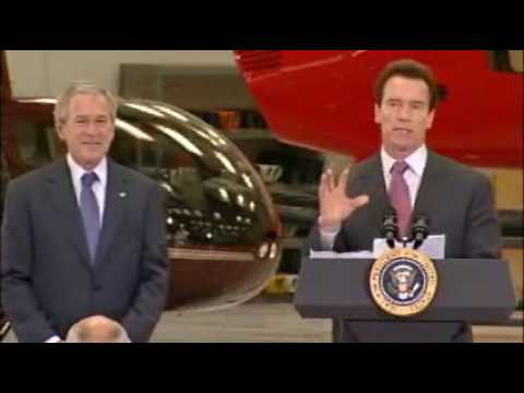 Governor Joins President Bush To Highlight Trade