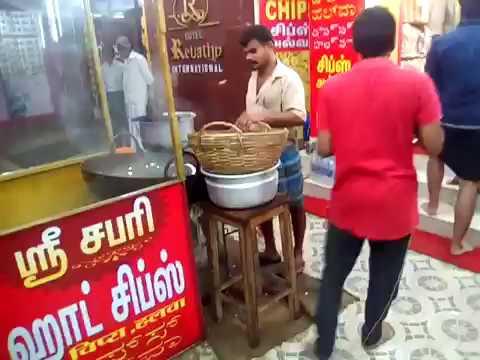 Kerala Banana Chips Processing