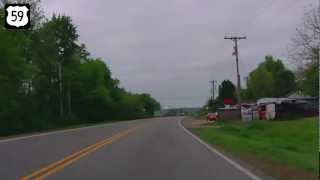 Siloam Springs (AR) United States  city images : Southbound US Highway 59, Siloam Springs, AR to Westville, OK