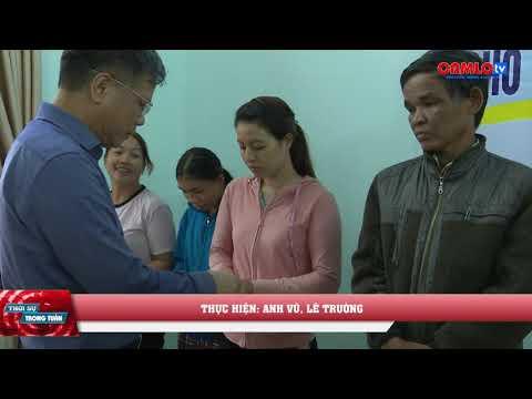 Trao tặng thẻ BHYT cho nhân dân xã Thanh An