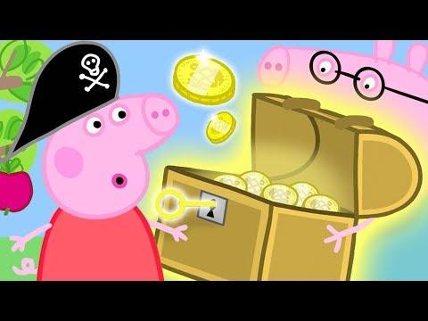 Peppa Pig en Español Episodios completos  Peppa Pig El tesoro escondido  Dibujos Animados