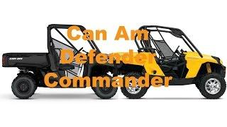 7. Can Am Commander 1000 vs Can Am Defender HD10
