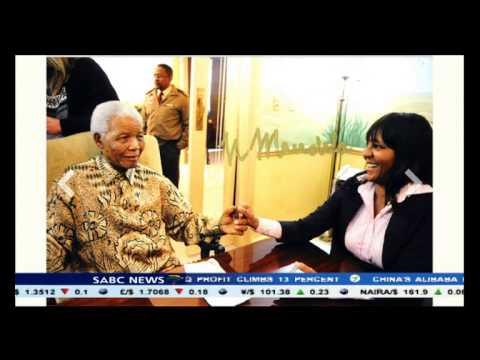 Mandela memorabilia went up for auction