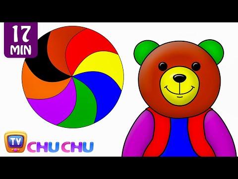 Preschool Songs Kids Learn Colors Songs