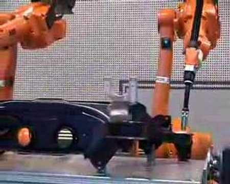 ABB Multiarc Positoner Robot Welding