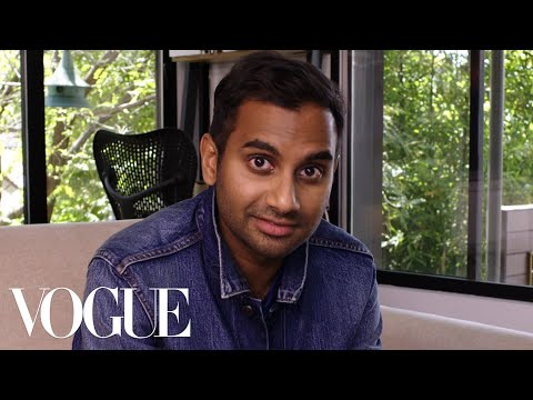 73 Questions With Aziz Ansari | Vogue