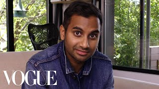 73 Questions With Aziz Ansari | Vogue