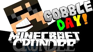 Minecraft: CRUNDEE CRAFT | HAPPY COBBLESTONE DAY!! [43]