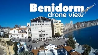 Benidorm - Costa Blanca Spain  City new picture : Benidorm, Costa Blanca, Spain (Espana). Drone view, Vista drone