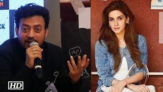 "Video Irrfan REACTS | Pak actress Saba Miss ""Hindi Medium"" Trailer launch MP3, 3GP, MP4, WEBM, AVI, FLV April 2017"