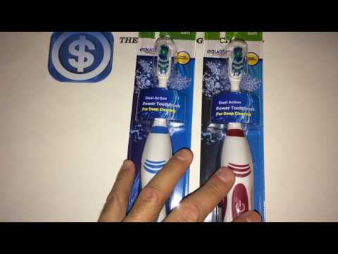 Equate Dual Action Power Toothbrush Review (Walmart Item)