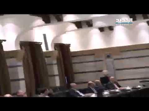 فوضى وصراخ في مجلس الوزراء اللبناني (فيديو)
