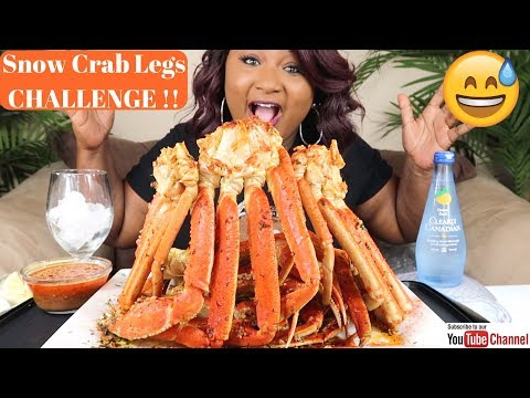 SEAFOOD BOIL MUKBANG , SNOW CRAB LEGS CHALLENGE  , Bloveslife Seafood Sauce - Thời lượng: 43 phút.