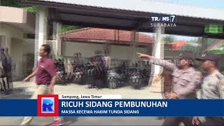 Video Hakim Tunda Persidangan, Sidang Pembunuhan Sadis Ricuh MP3, 3GP, MP4, WEBM, AVI, FLV Desember 2017