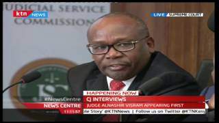 Attorney General Githu Muigai takes on Judge Alnashir Visram over a number of issues