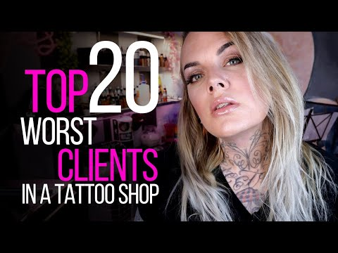 Video TOP 20 WORST CLIENTS IN A TATTOO SHOP ♛ (Being a Tattoo Artist Series) download in MP3, 3GP, MP4, WEBM, AVI, FLV January 2017