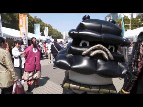 【ゆるキャラ】荒ぶる熊本市のキャラクター「ひごまる」