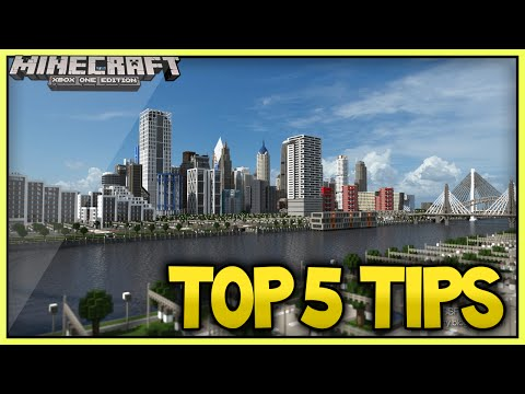 Minecraft TOP 5 City Building Tips – 2015 Edition