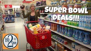The BEST SUPER BOWL DEALS at TARGET (Soda, Chips, Pizza, & MORE!) | Deal Shopping with Collin