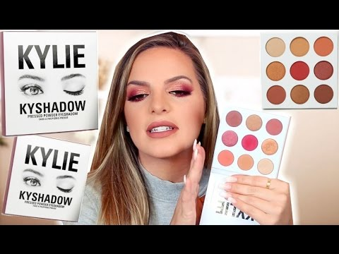 KYLIE COSMETICS Burgundy Palette | First Impression & Review | Casey Holmes