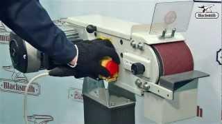 Ленточно-шлифовальный станок GM1-100-B Blacksmith