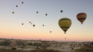 Urgup Turkey  city pictures gallery : VLOG: Urgup / Turkey - Hot Air Balloon Experience w/ MACCAN BALLOONS