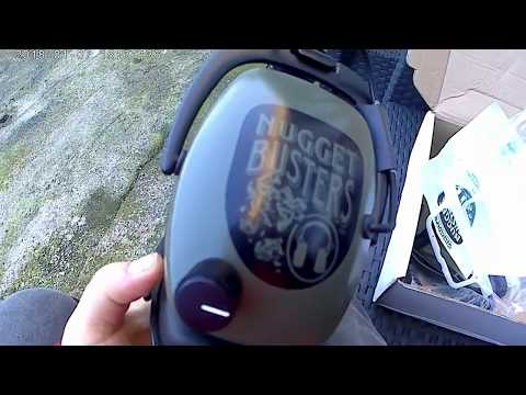 Metal detecting Detector Pro: Nugget buster NDT headphones