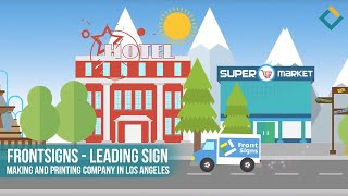 Front Signs – Leading Sign making and printing company in Los Angeles
