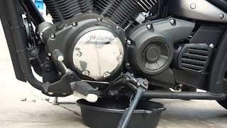 5. Motorcycle Oil Change: Yamaha Stryker