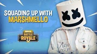 Squading Up With Marshmello!! - Fortnite Battle Royale Gameplay - Ninja