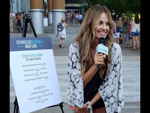 Carly Pearce Plays \'Every Little Thing\' Mad Libs