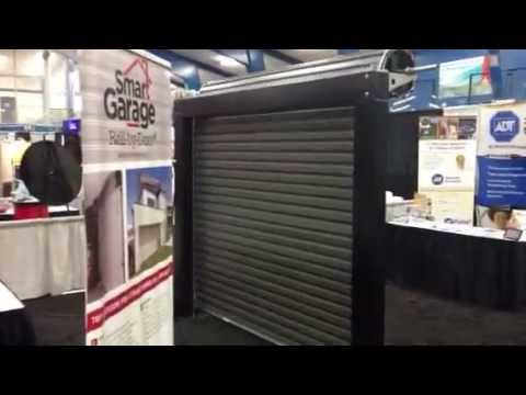 Roll Up Door Outside Front | Smart Garage