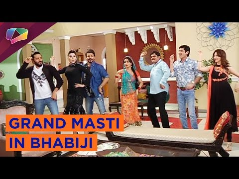 Film Great Grand Masti stars visit Bhabijis house