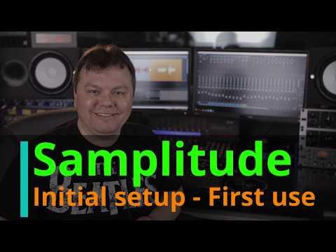 Magix Samplitude Pro X4 - initial setup and first use (EN)