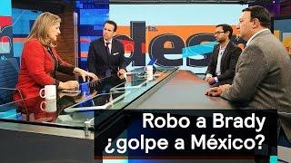 El jersey de Tom Brady y el mexicano que lo roba