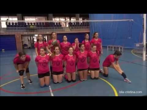 Resumen. Voleibol Isla Cristina Vic Juvenil (vs) Gibraleón