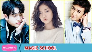 Nonton GOT7's Jinyoung, Nichkhun, Yoon Park and More Cast In Webdrama Magic School Film Subtitle Indonesia Streaming Movie Download