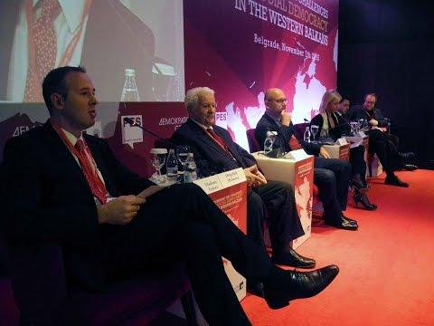 Панел Прогресивни пут ка регионалној сарадњи и интеграцији у ЕУ на конференцији Изазови социјалдемократије у региону